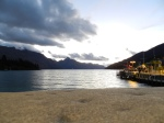 Sunset in Queenstown.