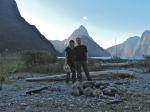Alex, Alexis and Milford Sound