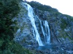 Bowen Falls in Milford Sound.