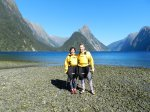 Still looking' foxy at Milford Sound.